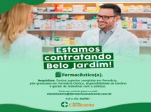 Farmácia Cavalcante oferece vaga de emprego para Belo Jardim