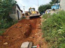 Secretaria de Infraestrutura beneficia comunidade do sítio Rodrigues com saneamento básico