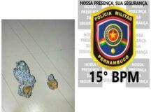 PM prende dois homens por posse de entorpecente em Belo Jardim
