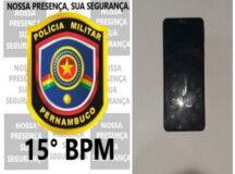 Adolescente é detido com celular com queixa de roubo em Belo Jardim