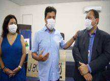 Mendonça visita nova Faculdade, em Bezerros, e diz que curso superior é mais oportunidades para a juventude