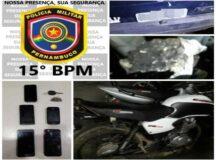 Criminosos fogem após furtar chumbo em fábrica de baterias em Belo Jardim