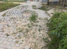 Morador denuncia calçamento prejudicado por obras da Compesa em Belo Jardim
