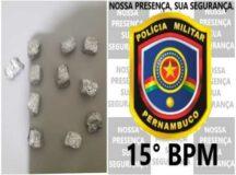 Tacaimbó: mulher liga para PM e se entrega após adquirir drogas para vender