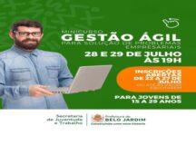 Prefeitura de Belo Jardim abre inscrições para minicurso de Gestão Ágil para Solução de Problemas Empresariais