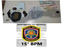 Jovem é preso com drogas e arma de fogo em Tacaimbó
