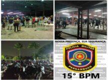 PM encerra festa com aglomeração e tráfico de drogas em Belo Jardim