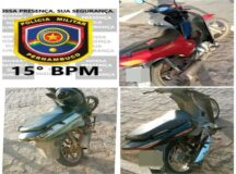 PM apreende motos com escapamento barulhento em Belo Jardim