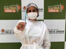 Belo Jardim antecipa segunda dose da vacina Pfizer