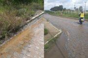 Moradores reclamam de vazamento e desperdício de água no bairro do Maria Cristina em Belo Jardim