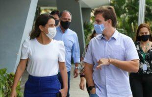 Miguel Coelho e Raquel Lyra reafirmam unidade por mudança em Pernambuco