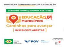 Programa Compromisso com a Educação está com inscrições abertas