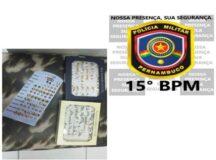 Jovem é preso pela PM após assaltar loja de bijuterias no centro de Belo Jardim