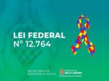 Belo Jardim abre inscrições para requerimento de carteirinha para pessoas autistas