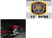 Homem embriagado é preso após ser flagrado empinando moto em Belo Jardim