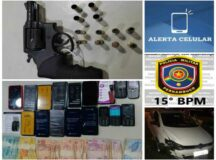 Assaltante de loja de celular em Belo Jardim é preso pela PM