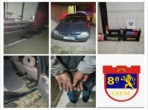 Ladrões de baterias de caminhões são presos em Sanharó pela PM