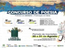 Inscrições para concurso de Poesia em Belo Jardim encerram nesta terça (31)