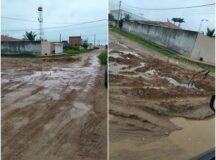 Morador pede solução para avenida cheia de lama no bairro Ayrton Maciel em Belo Jardim
