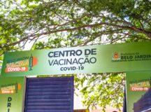 Belo Jardim: Centro de Vacinação da Covid-19 funciona durante do feriado da Independência do Brasil