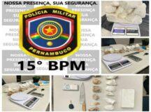PM encontra drogas, carro roubado e munições na casa do ex-motorista de Hélio dos Terrenos, assassinado em Belo Jardim nessa quinta (2)