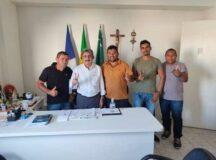 Irmão Adriano, Jamerson do Maria Cristina, Marinaldo de Vila Nova e Nílson aderem ao grupo político do prefeito Gilvandro Estrela