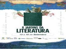Confira a programação completa do II Jardins da Literatura