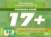 Adolescentes com 17 anos, sem comorbidades, são convocados para receber a primeira dose da vacina contra Covid, em Belo Jardim