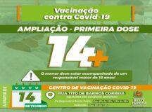 Adolescentes de 14 anos, sem comorbidades, podem se vacinar em Belo Jardim