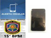 Homem é preso com celular roubado em Belo Jardim