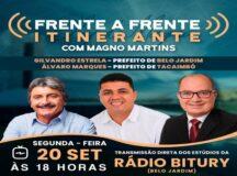 Magno Martins apresenta Frente a Frente na Rádio Bitury nessa segunda (20)