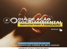 Igreja Evangélica promove Dia de Ação Socioambiental em Belo Jardim