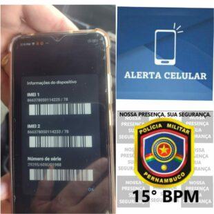 Adolescente é apreendido com celular roubado em Tacaimbó