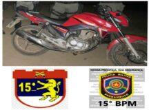 PM recupera moto roubada com ajuda de rastreador em Belo Jardim