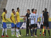 Veja como fica a situação da partida da Seleção Brasileira na Arena Pernambuco após suspensão do jogo contra a Argentina