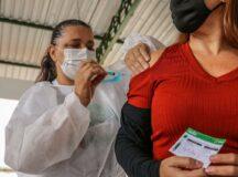 Pernambuco tem 27% da população com esquema vacinal completo contra a covid-19