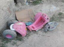 Criança que brincava em velocípede é atropelada por caminhão em Belo Jardim