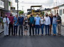 Mendonça Filho e Erivaldo Chagas garantem R$ 1 milhão em asfalto para Lajedo