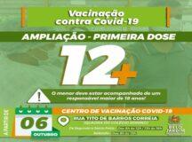 Adolescentes de 12 anos, sem comorbidades, podem se vacinar em Belo Jardim