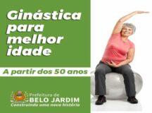 Prefeitura de Belo Jardim abre inscrições para aulas de ginástica para melhor idade