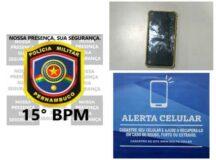 Homem é detido com celular roubado no bairro do São Pedro em Belo Jardim