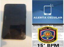 Mulher é detida com celular roubado no bairro da Lagoa em Belo Jardim