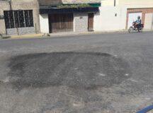 Prefeitura de Belo Jardim conserta buraco na ladeira do Fórum