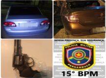 PM recupera dois veículos roubados em Belo Jardim